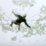 Natasa Vasiljevic falling_series_fantoni 70 x 100 cm Λάδι σε καμβά 2012 /