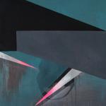 Anabel Leiner Process III Αcrylic on canvas  120 X 100 cm / Anabel Leiner Διαδικασία ΙΙΙ Ακρυλικό σε καμβά  120 X 100 εκ