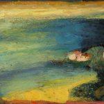 Irene Kana Trikeri Oil on canvas  70 X 100 cm / Ειρήνη Κανά Τρίκερι Λάδι σε καμβά  70 Χ 100 εκ