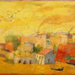 Irene Kana Aufwiedersehen Oil on canvas  100 X 150 cm / Ειρήνη Κανά Αντίο Λάδι σε καμβά  100 Χ 150 εκ