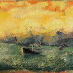 Irene Kana Katolas Oil on canvas  60 X 120 cm / Ειρήνη Κανά Κάτολας Λάδι σε καμβά  60 Χ 120 εκ