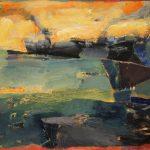 Irene Kana St Amphitritis Oil on canvas  70 X 100 cm / Ειρήνη Κανά Αγία Αμφιτρίτη Λάδι σε καμβά  70 Χ 100 εκ