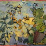 Irene Kana Sacred Green Oil on canvas  100 X 120 / Ειρήνη Κανά Ιερό Πράσινο Λάδι σε καμβά  100 Χ 120 εκ