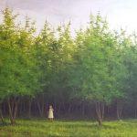 Kyriaki Out of context acrylic on canvas  120 Χ 240 cm / Κυριακή Εκτός πλαισίου ακρυλικό σε καμβά  120 Χ 240 εκ