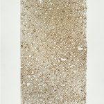 Virginia Mastrogiannaki Untitled From the Remnant series  burnt paper, plexi glass, 2011  100 X 34 cm / Βιργινία Μαστρογιαννάκη Untitled Από τη σειρά Απομεινάρια  καμμένο χαρτί, 2011  100 X 34 εκ