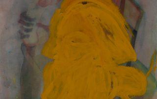 Μαρία Κρεμέτη Χωρίς τίτλο (2016) ακουαρέλα, 160Χ110 εκ.