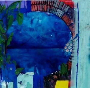 Μανώλης Χάρος, 80Χ80εκ, μικτή τεχνική / Manolis Charos, 80X80 cm, mixed media