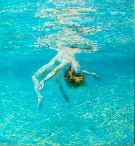 Μαρία Φιλοπούλου, 60Χ55εκ, λάδι σε καμβά / Maria Filopoulou, 60X55cm, oil on canvas