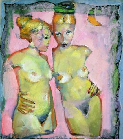 Ειρήνη Κανά, 80Χ70, λάδι σε καμβά / Irene Kana, 80X70cm, oil on canvas