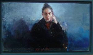 Χρήστος Παλλαντζάς, 24 Χ43 εκ, λάδι σε καμβά / Christos Pallantzas, 24X43cm, oil on canvas