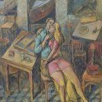Παύλος Σάμιος, 90Χ70 εκ, ακρυλικό σε καμβάς / Pavlos Samios, 90X70 cm, acrylic on canvas