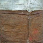 Μαρία Πασχαλίδου/ Maria Paschalidou Ο καλπασμός των Δερμάτων/ Galloping of Hides 100X70 cm