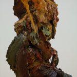 detail don quixote, 2015 oil scupture_97X70X53_2