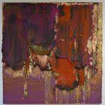 "P.Famelis_""Untitled"", 2014, oil on wood, 120 x 122 cm"