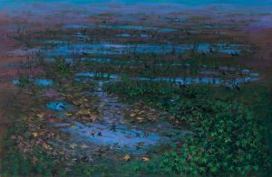 Irini Iliopoulou_Winter,120X190, oil on canvas