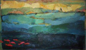 Irini Kana_sailing Aegean,70x120cm,oil on canvas