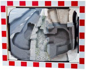 Fragment (Road traffic mirror), archival print on fine art paper, 54x46x5 cm, 2017