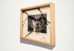 Perspective object (Trompe l'oeil), archival print on fine art paper, 30x35x5 cm,2017