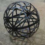 Kalliopi Lemos Iron Sphere Iron, diameter 80cm, 2015 / Καλλιόπη Λεμού Σιδερένια Σφαίρα Σίδερο, διάμετρος 80 εκ, 2015