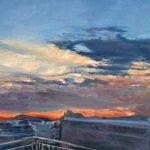 Dimitris Andreadakis Untitled Oil on canvas, 75 X 170 cm / Δημήτρης Ανδρεαδάκης Άτιτλο Λάδι σε καμβά, 75 Χ 170 εκ.