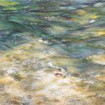 Chryssa Verghi Untitled Oil on canvas, 104 X 110 cm / Χρύσα Βέργη Άτιτλο Λάδι σε καμβά, 104 Χ 110 εκ., 2015