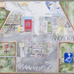 Yiannis Kotinopoulos  Kiosk  Watercolor, pen, pencil,  70x100 cm, 2016  cur.Areti Leopoulou / Γιάννης Κοτινόπουλος  Περίπτερο  Ακουαρέλα, στύλο, μολύβι,  70x100 εκ. 2016  επ.Αρετή Λεοπούλου
