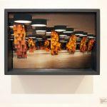 Michel Lamoller layerscape 2 multiple c-prints  20X30X15 cm, 2015 / Michel Lamoller layerscape πολλαπλά c-prints  20X30X15 εκ, 2015