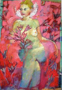Ειρήνη Κανά, 100Χ70, λάδι σε καμβά / Irene Kana, 100X70cm, oil on canvas