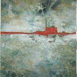 Μαρία Πασχαλίδου/ Maria Paschalidou Ρομφαία Πύρινη/ Longsword of Fire 80X60 cm