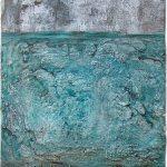 Μαρία Πασχαλίδου/ Maria Paschalidou Μεταλλική Χειρονομία/ Metallic Gestures 80X60 cm