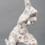 Kalliopi Lemos, Figurine, 2015, air clay, japanese paper