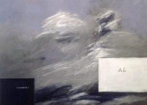 C.I.T.R. 115, acrylic on canvas 90x90cm, 2016