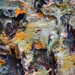 "detail_P.Famelis_""Untitled : dark Sky, draft 3"", 2016, oil on canvas on wood, 170 x 200 cm"