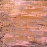"P.Famelis_""Untitled"" 2015, oil on wood, 65 x 65 cm"