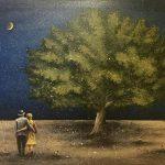 Dafni Angelidou_ Summer Sky, 60X80, oil on canvas