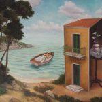 N.Angelidis, 70 Χ 90 cm, oil on canvas, 2013