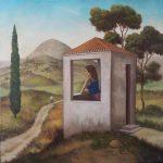 N.Angelidis,60 Χ 60cm, oil on canvas,2011