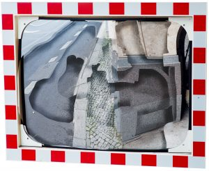 Michel Lamoller | A depthless world | Fragment (Road traffic mirror) Prints Nitra Gallery Athens Photography Solo Show