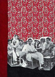 Gülsün Karamustafa, Istanbulites 5, Paper collage, 21x29 cm