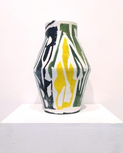 Φίλιππος Θεοδωρίδης Philippos Theodorides ceramic vase green