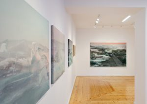 Alexandra Roussopoulos, Behind The Horizon, Solo Show, Nitra Gallery, Athens, Contemporary art