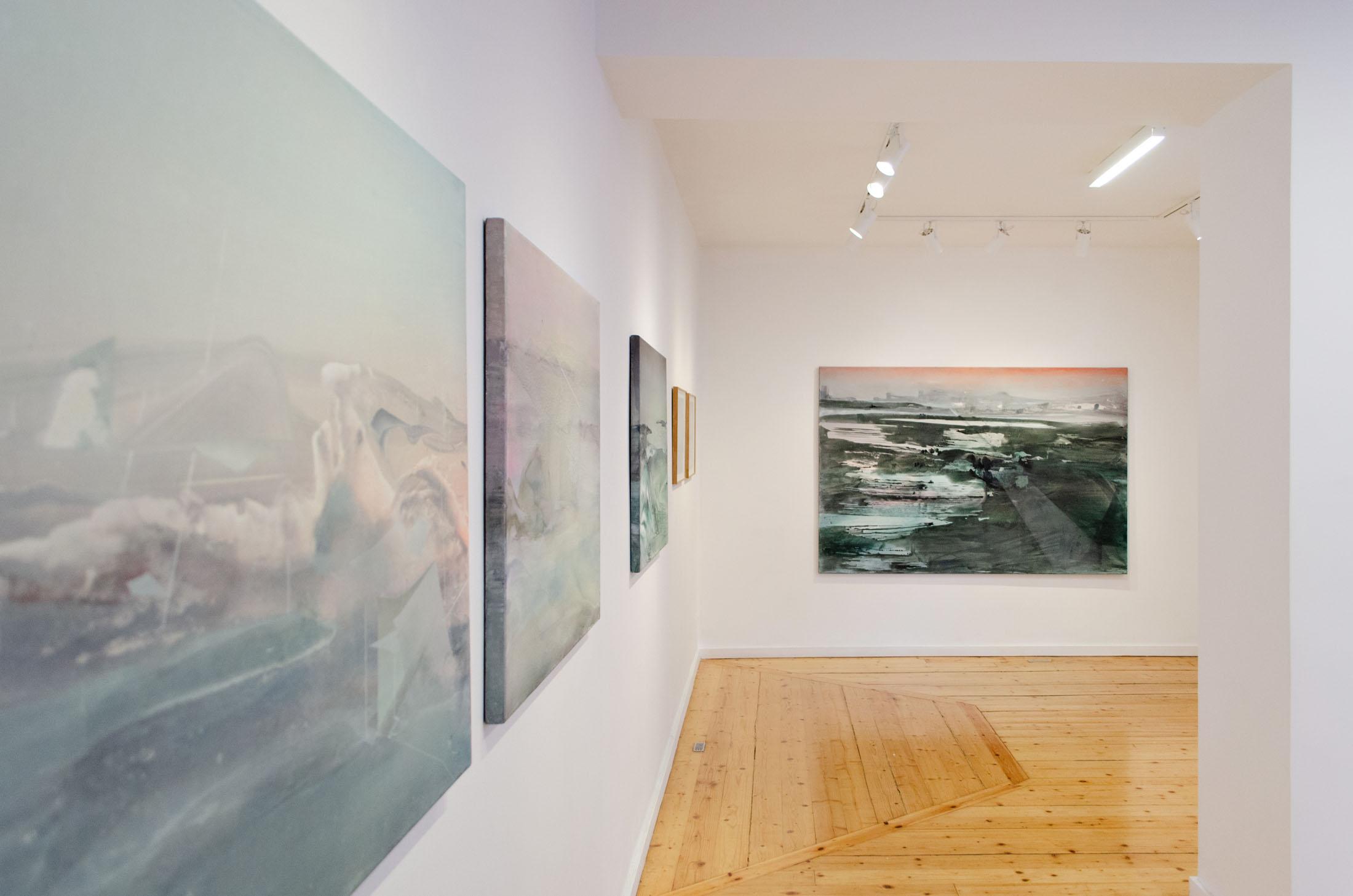 Alexandra Roussopoulos, Behind the Horizon, Nitra Gallery Athens